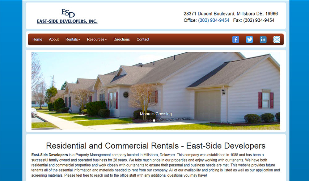 Eastside Developers, Inc.