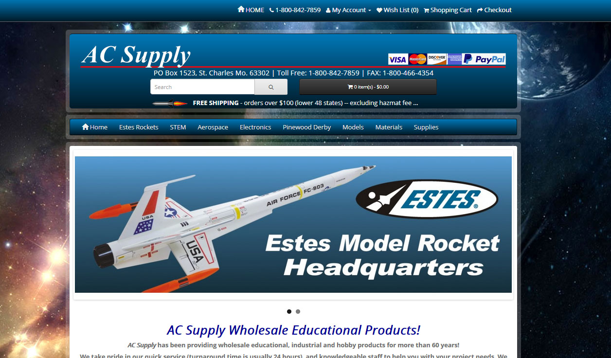 AC Supply Co. Educational Products