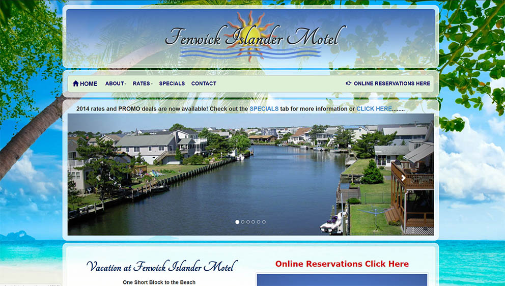 Fenwick Islander Lodging