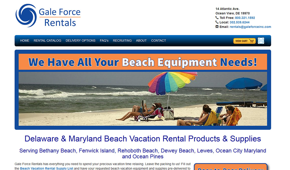 Vacation Rentals products
