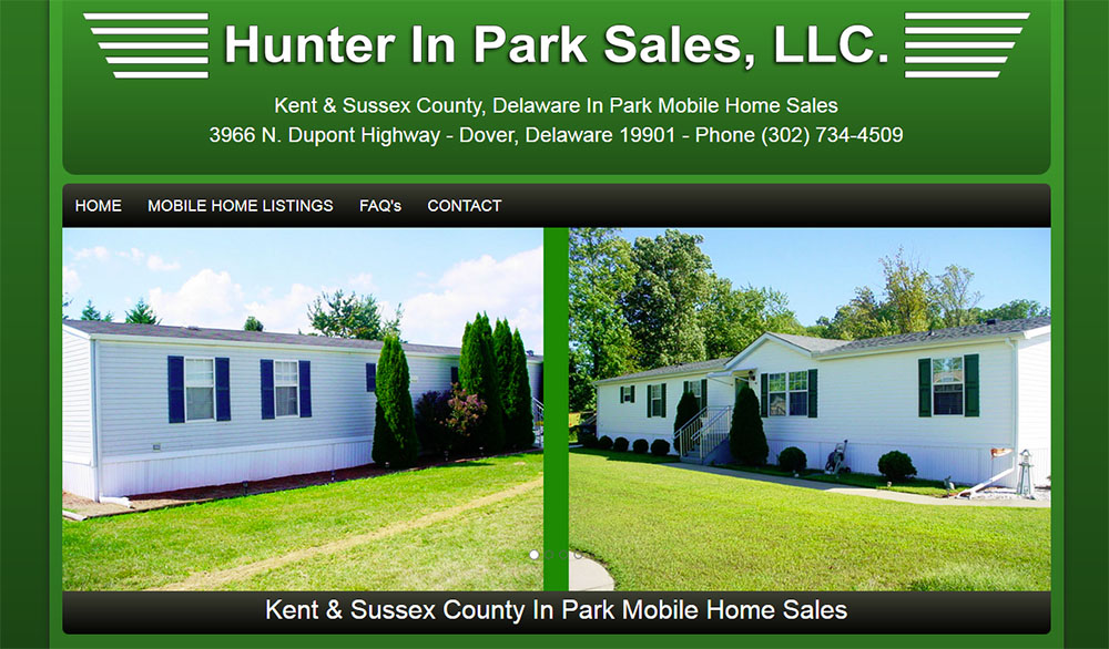 Hunter Mobile Home Sales