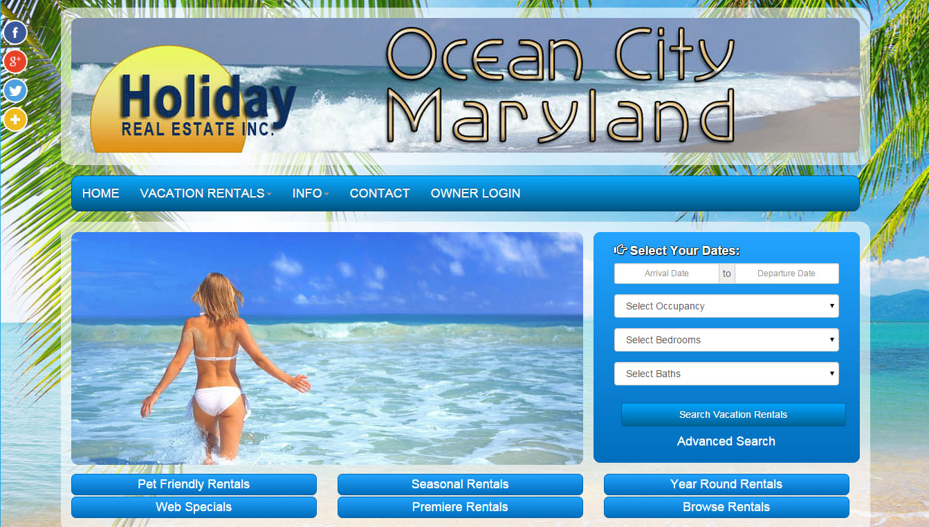delaware & maryland web design project