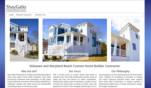 delaware web design project